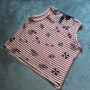 W5 by Anthro women's size XL sleveless blouse